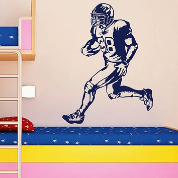 ik2894 Wall Decal Sticker American football football hall bedroom
