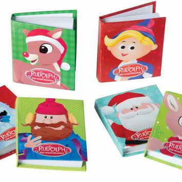 Rudolph The Red-Nosed Reindeer Little Notebook 24/Dsp Case Pack 24