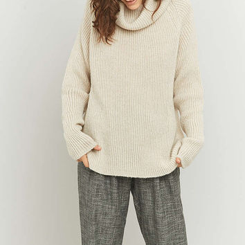 Light Before Dark Slouchy Turtleneck Jumper - Urban Outfitters