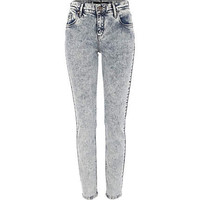 Light acid wash Amelie superskinny jeans