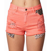 Rock Stud Cut Offs