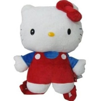 Hello Kitty Red and Blue Backpack