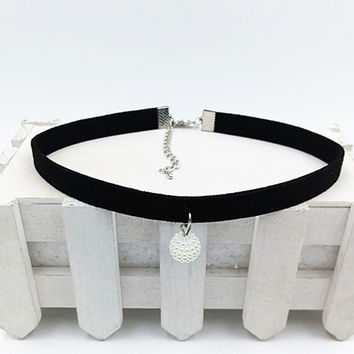Fashion Black Rope Resin Pendant Choker Necklaces Jewelry For Women   Statement Necklaces Collares