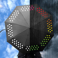 Colour Changing Umbrella - buy at Firebox.com