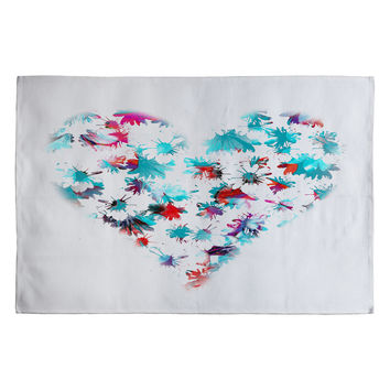 Aimee St Hill Floral Heart Woven Rug