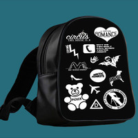 Arctic Monkeys Mix Tape Album for Backpack / Custom Bag / School Bag / Children Bag / Custom School Bag ***