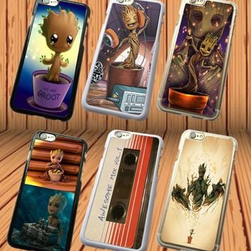 Baby Groot Guardians of the Galaxy Marvel iPhone And Samsung Models Case Cover