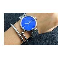 GUCCI exquisite beauty watches F-Fushida-8899  Silver - blue dial