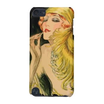 Classy Feather Dame 5th Generation iPod Touch Case