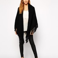 New Look Knitted Wrap Scarf at asos.com
