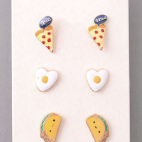 Foodie Stud Earring Set