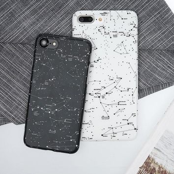 Starry Constellation Map Case for iPhone 7 7Plus