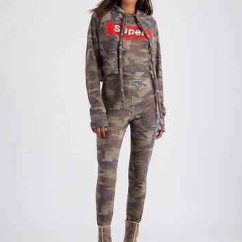 Super Cool Camo Hoodie And Pant Set
