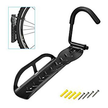 Bicycle Wall Hook Rack Holder Hanger Stand, Vertical Bike Storage , Garage Wall Rack , Mount for Hanging Bicycle, Bike Hook Save the Space