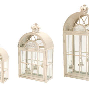 Park Avenue Collection Tea Light Lantern (Set of 3)