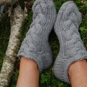 Best Womens Hand Knit Slipper Socks Products On Wanelo
