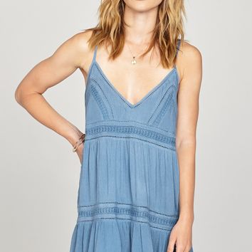 AMUSE SOCIETY - Summer Light Dress | Blue
