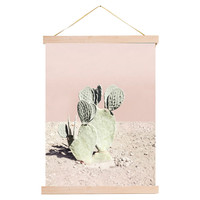 Pink Cacti Tapestry, Tapestries & Panels