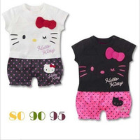 Hello Kitty Rompers