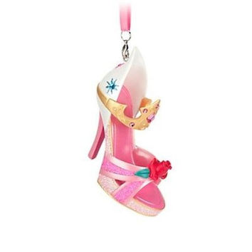 disney parks sleeping beauty princess aurora shoe ornament new with tag