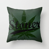 Stoner Throw Pillow by Nicklas Gustafsson | Society6