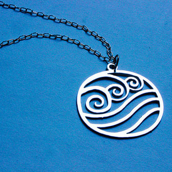 AVATAR The Last Airbender - Legend of Korra WATER necklace - 4 colors available