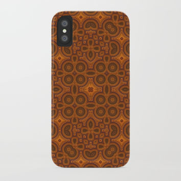 Just a Pattern iPhone Case by Lyle Hatch