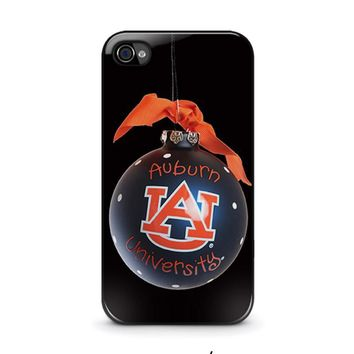 auburn university war eagle iphone 4 4s case cover  number 1
