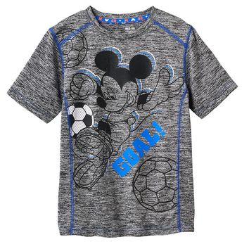 Disney's Mickey Mouse Soccer Active Tee by Jumping Beans - Boys 4-7x, Size: