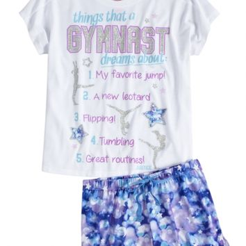 Gymnast Pajama Set