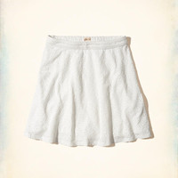 Girls Eyelet Skater Skirt | Girls Clearance | HollisterCo.com