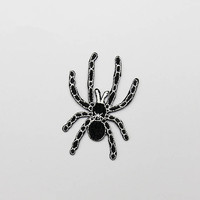 Embroidery Spider Patch,Spider Embroidered Patch,Spider iron on Patch,Animal patch,Spider Embroidered patches,Iron on patch