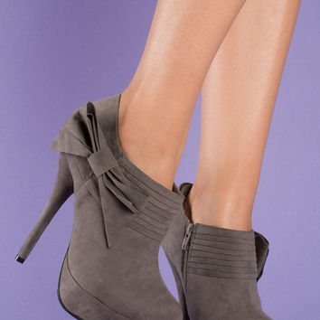 Bootie Love – Grey