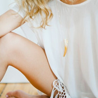 Tess and Tricia Classic Gold Ombre Necklace
