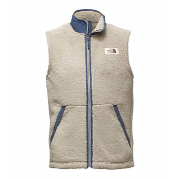 Men's Campshire Sherpa Vest in Granite Bluff Tan by The North Face - FINAL SALE