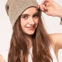 ASOS | ASOS Metallic Boyfriend Beanie at ASOS