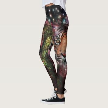Galaxy Tiger Leggings