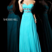 Sherri Hill Dress 3866 at Peaches Boutique