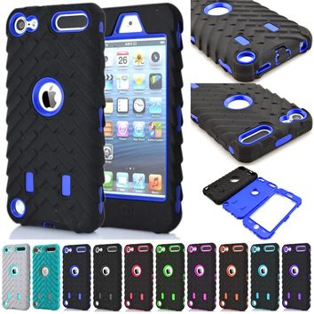 Shockproof Case Cover Protective shell For Apple iPod Touch 5 / Touch 6 / iPhone