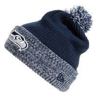Men's New Era Cap 'Flurry Frost - NFL Seattle Seahawks' Pom Knit Cap