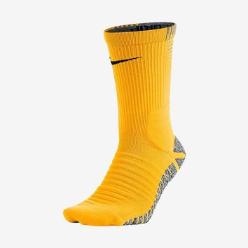 Grip Strike Cushioned Crew Socks