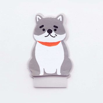 Dog Shaped Sticky Note 20sheets