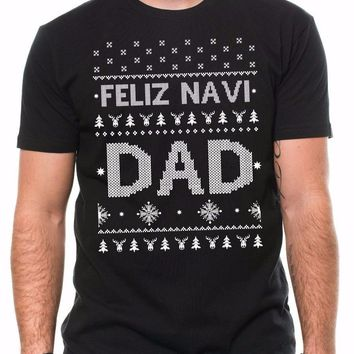 2018 Christmas Gift For Dad Funny Ugly Christmas Sweater T-shirt Gift For Father