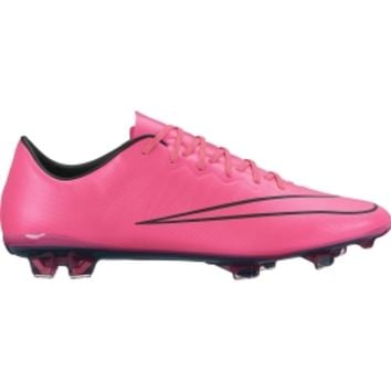 Nike Men's Mercurial Vapor X FG Soccer Cleats - Pink/Black | DICK'S Sporting Goods