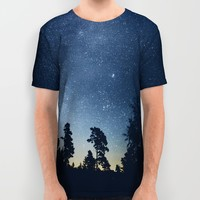 Follow the stars All Over Print Shirt by HappyMelvin