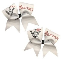 Besties Cheer Bows