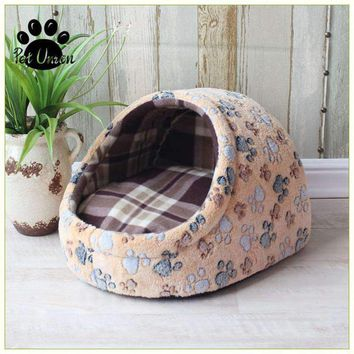Dog House Dog Cat Bed Puppy Bed Blanket Cat House Dog Bed Pad Kennel Nest Pet Totoro Bed Sofa Removable Pillow Chihuahua Pad