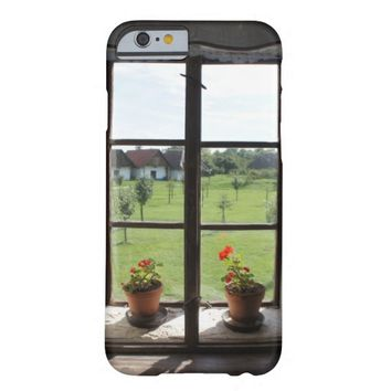 Countryside Window View Barely There iPhone 6 Case