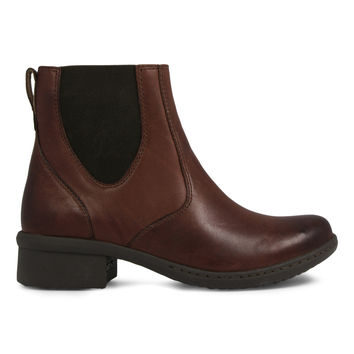 Bogs Cordovan Kristina Chelsea Waterproof Leather Ankle Boot - Women