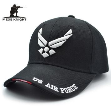Trendy Winter Jacket Mege 2017 Hot Selling Men Tactical Cap US Air Force Unisex Adjustable Street Hiphop Baseball Cap Fitted Sunscreen Hats AT_92_12